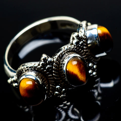 Tiger Eye Rings handcrafted by Ana Silver Co - RING20963