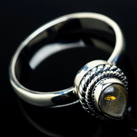 Labradorite Rings handcrafted by Ana Silver Co - RING20968