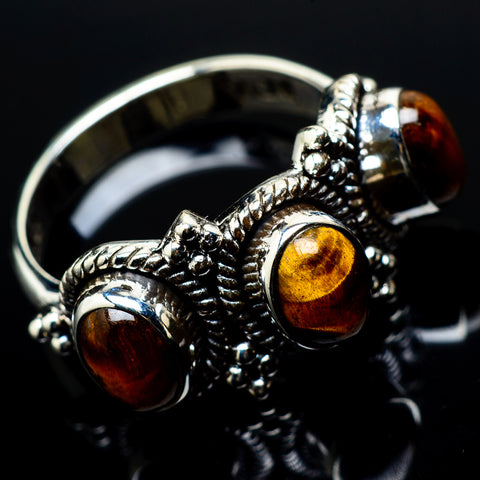 Tiger Eye Rings handcrafted by Ana Silver Co - RING20978