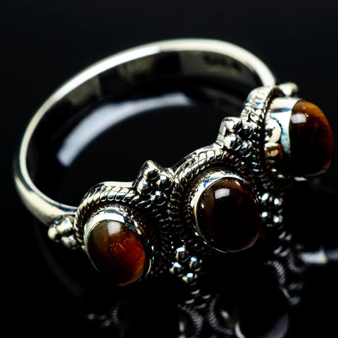 Tiger Eye Rings handcrafted by Ana Silver Co - RING20993