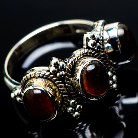 Tiger Eye Rings handcrafted by Ana Silver Co - RING21007