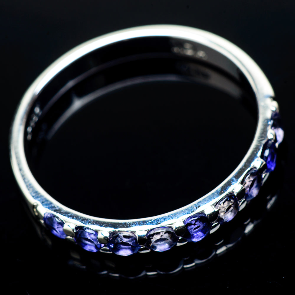 Tanzanite Rings handcrafted by Ana Silver Co - RING21026