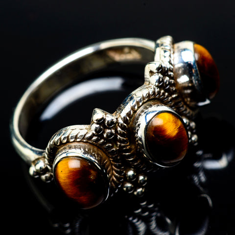 Tiger Eye Rings handcrafted by Ana Silver Co - RING21049