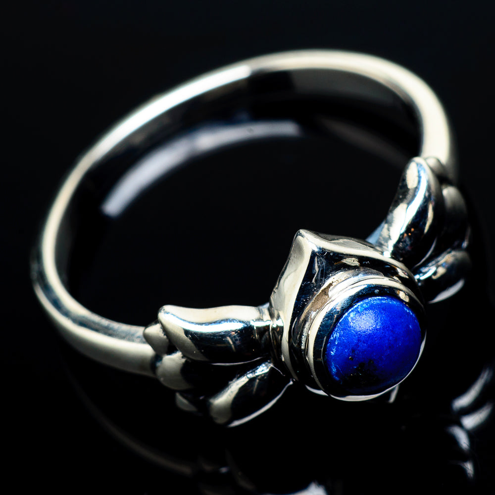 Lapis Lazuli Rings handcrafted by Ana Silver Co - RING21056