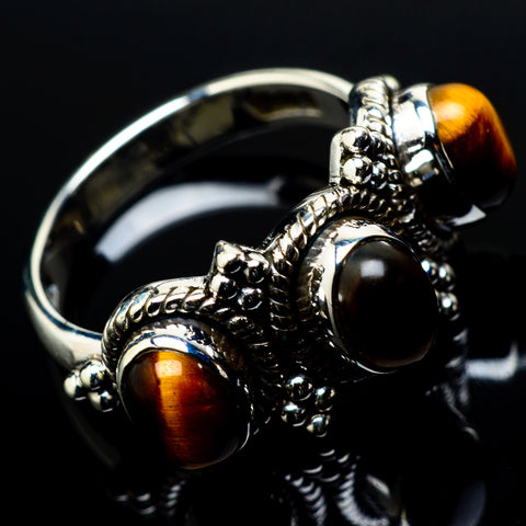 Tiger Eye Rings handcrafted by Ana Silver Co - RING21062