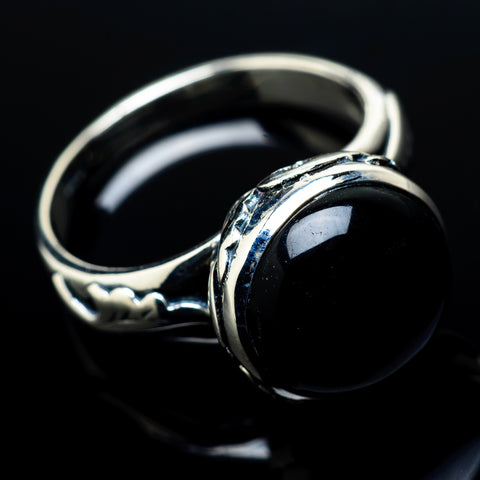 Psilomelane Rings handcrafted by Ana Silver Co - RING21121