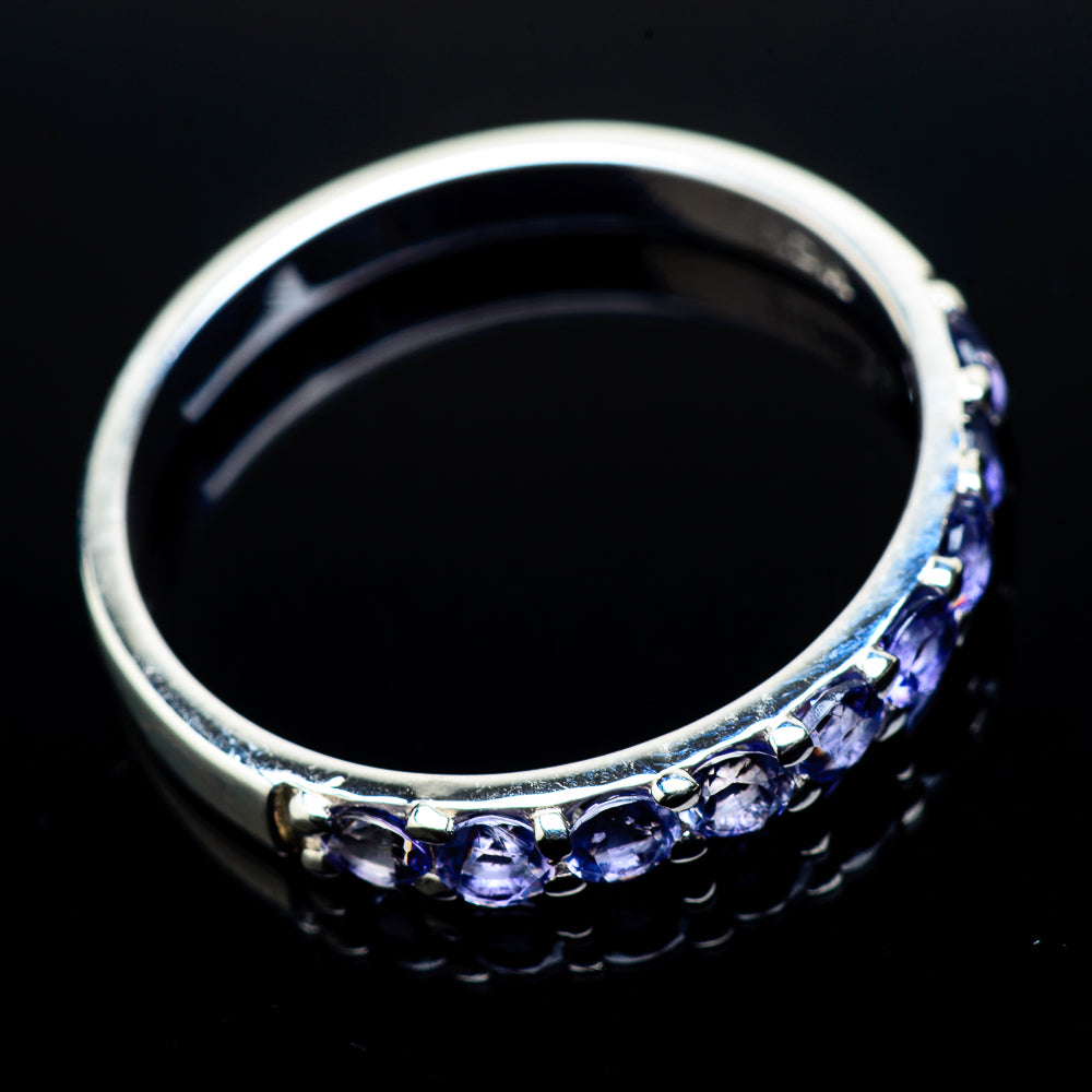 Tanzanite Rings handcrafted by Ana Silver Co - RING21196