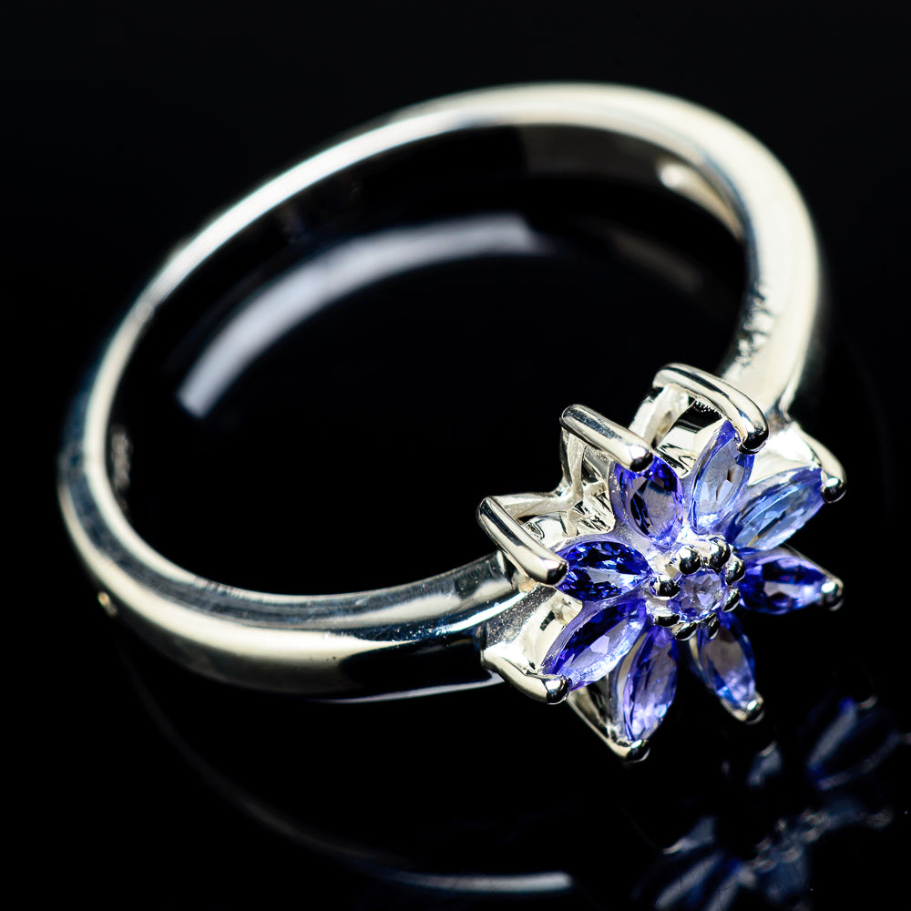 Tanzanite Rings handcrafted by Ana Silver Co - RING21246