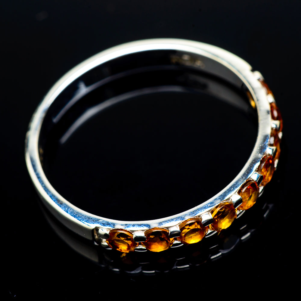 Citrine Rings handcrafted by Ana Silver Co - RING21314