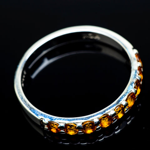 Citrine Rings handcrafted by Ana Silver Co - RING21337