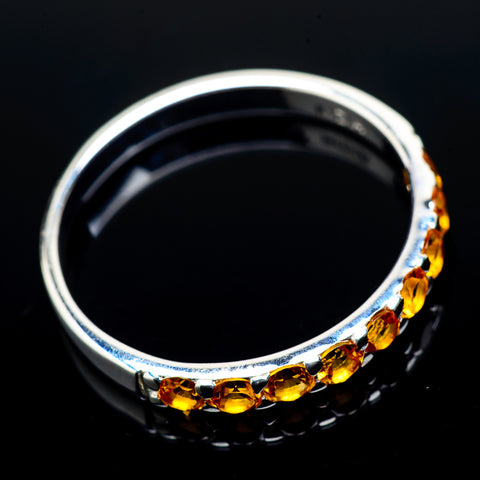 Citrine Rings handcrafted by Ana Silver Co - RING21378