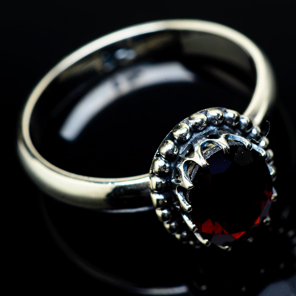Garnet Rings handcrafted by Ana Silver Co - RING21379