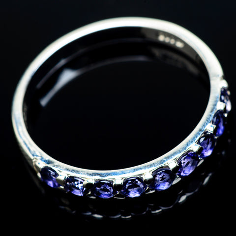 Tanzanite Rings handcrafted by Ana Silver Co - RING21381