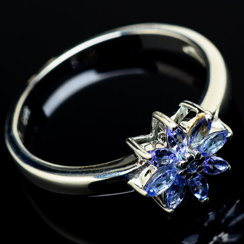 Tanzanite Rings handcrafted by Ana Silver Co - RING21382