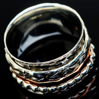 Meditation Spinner Rings handcrafted by Ana Silver Co - RING21384