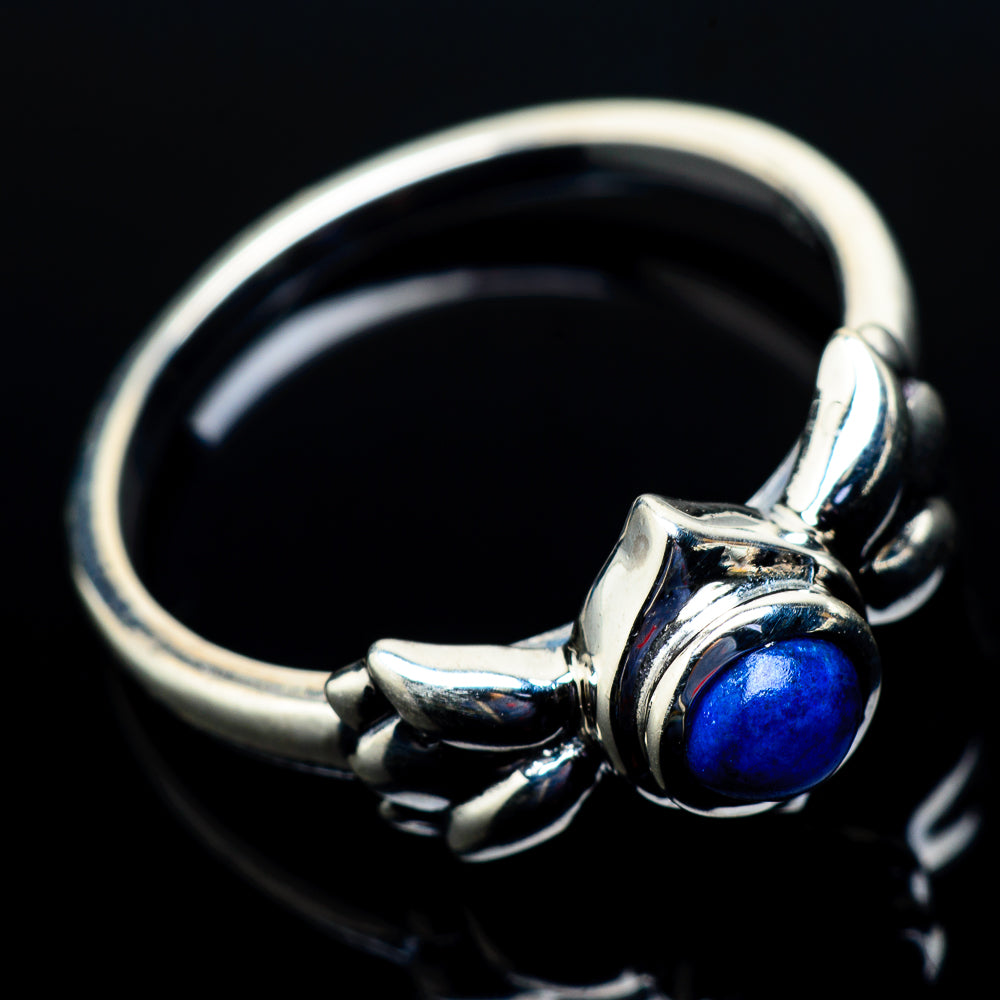 Lapis Lazuli Rings handcrafted by Ana Silver Co - RING21390