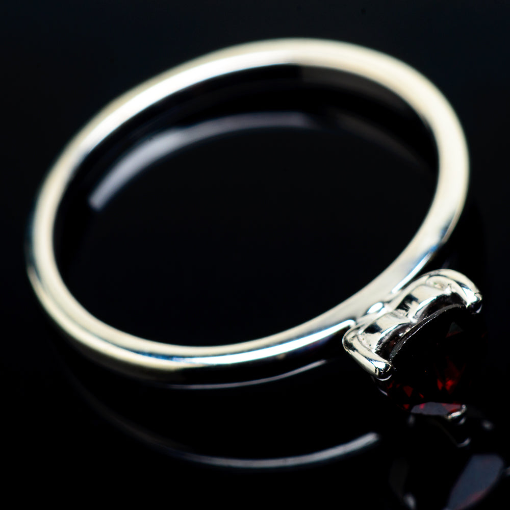 Garnet Rings handcrafted by Ana Silver Co - RING21400