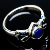 Lapis Lazuli Rings handcrafted by Ana Silver Co - RING21441