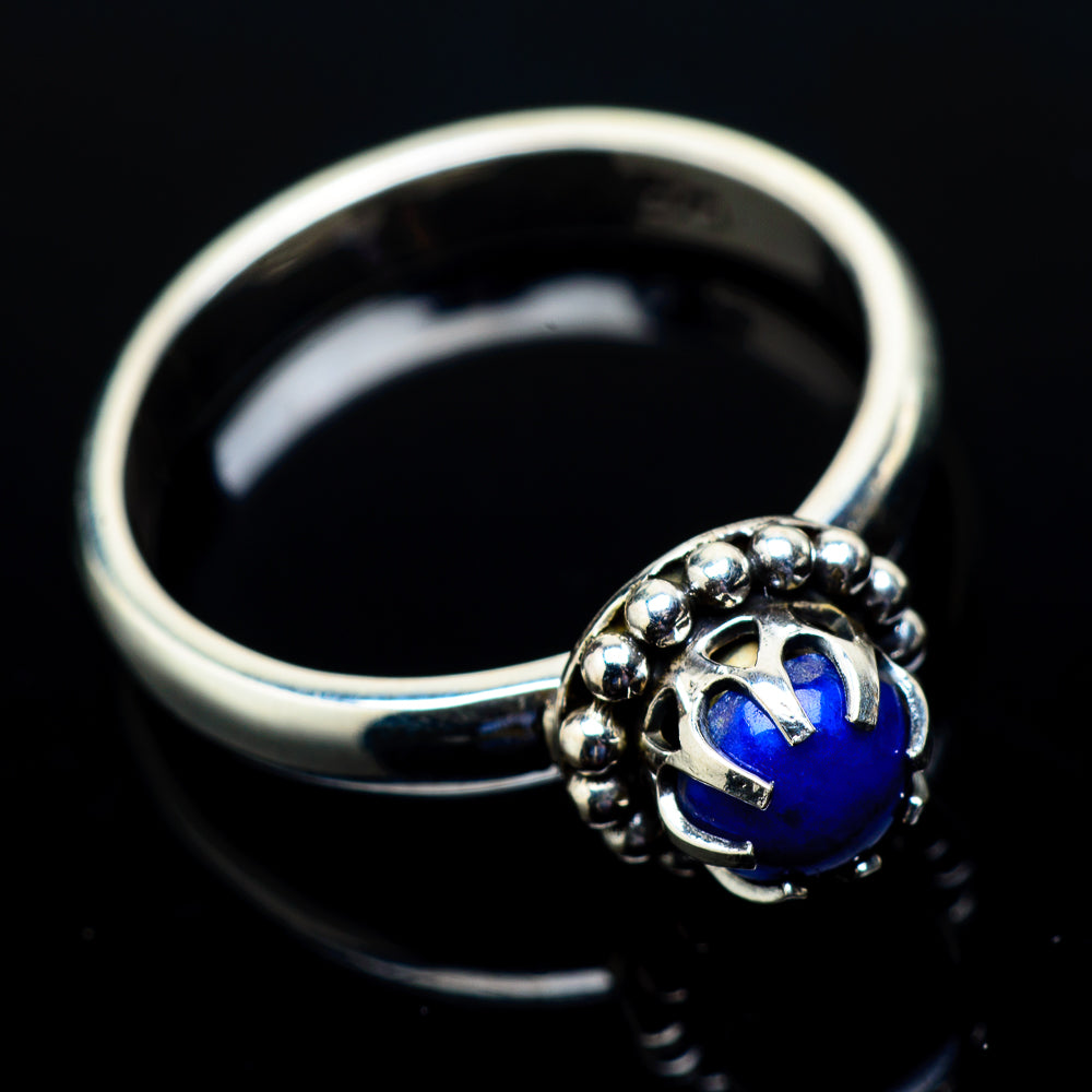 Lapis Lazuli Rings handcrafted by Ana Silver Co - RING21472