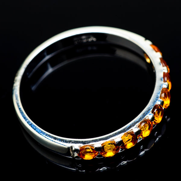 Citrine Rings handcrafted by Ana Silver Co - RING21507