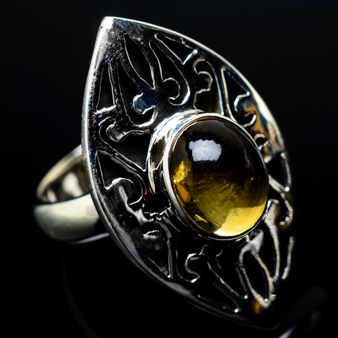 Citrine Rings handcrafted by Ana Silver Co - RING21558