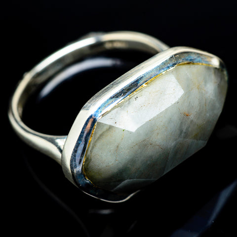 Aquamarine Rings handcrafted by Ana Silver Co - RING21587