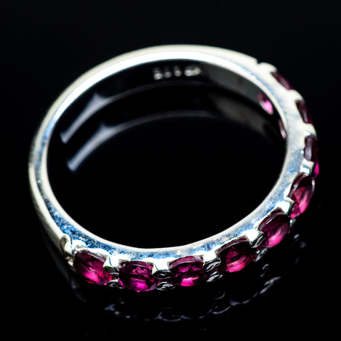 Pink Tourmaline Rings handcrafted by Ana Silver Co - RING21623