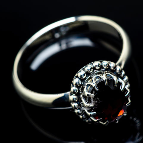Garnet Rings handcrafted by Ana Silver Co - RING21650