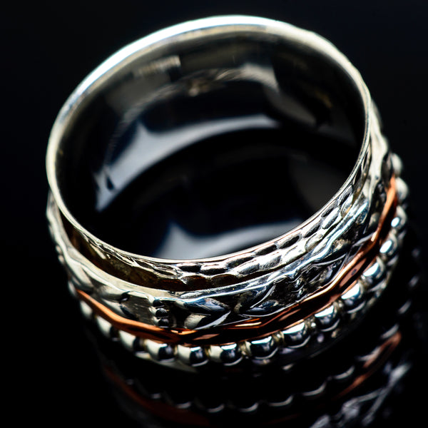 Meditation Spinner Rings handcrafted by Ana Silver Co - RING21682