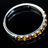 Citrine Rings handcrafted by Ana Silver Co - RING21699