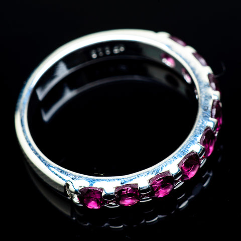 Pink Tourmaline Rings handcrafted by Ana Silver Co - RING21700