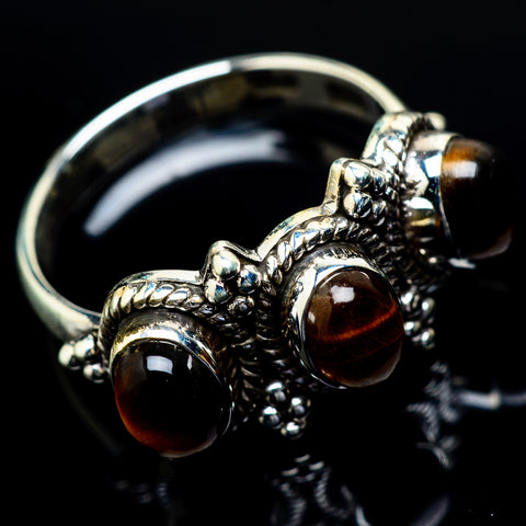 Tiger Eye Rings handcrafted by Ana Silver Co - RING21744