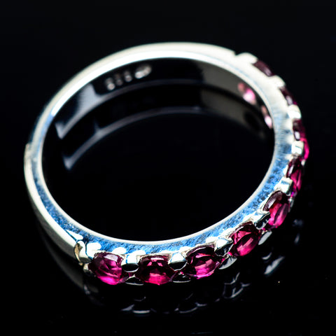 Pink Tourmaline Rings handcrafted by Ana Silver Co - RING21748