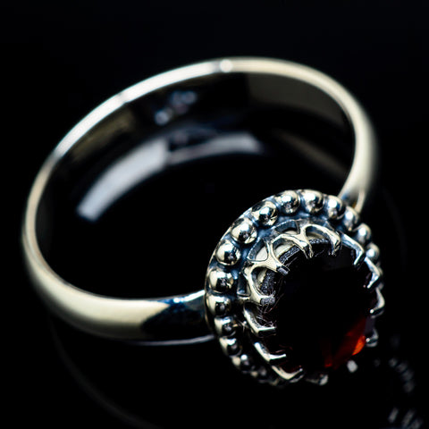 Garnet Rings handcrafted by Ana Silver Co - RING21749
