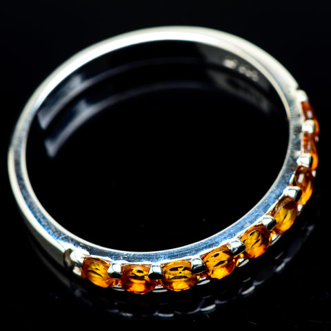 Citrine Rings handcrafted by Ana Silver Co - RING21792