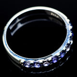 Tanzanite Rings handcrafted by Ana Silver Co - RING21816