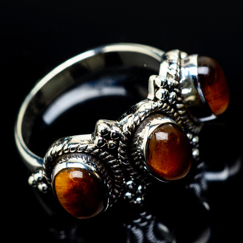 Tiger Eye Rings handcrafted by Ana Silver Co - RING21835