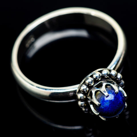 Lapis Lazuli Rings handcrafted by Ana Silver Co - RING21880