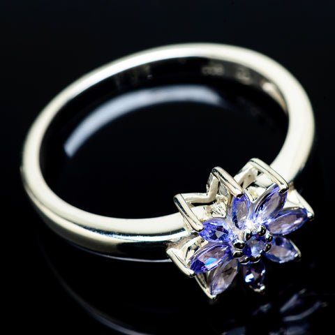 Tanzanite Rings handcrafted by Ana Silver Co - RING22024