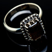 Smoky Quartz Rings handcrafted by Ana Silver Co - RING22233