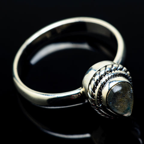 Labradorite Rings handcrafted by Ana Silver Co - RING22246