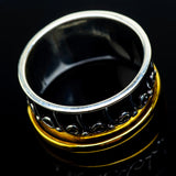 Meditation Spinner Rings handcrafted by Ana Silver Co - RING22273