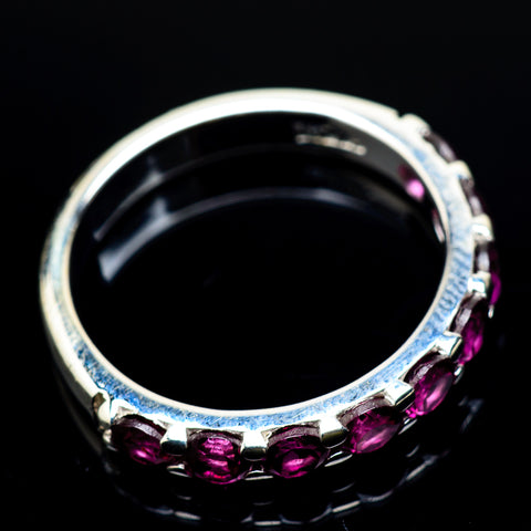 Pink Tourmaline Rings handcrafted by Ana Silver Co - RING22456