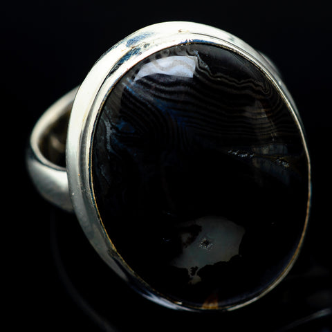 Psilomelane Rings handcrafted by Ana Silver Co - RING22494