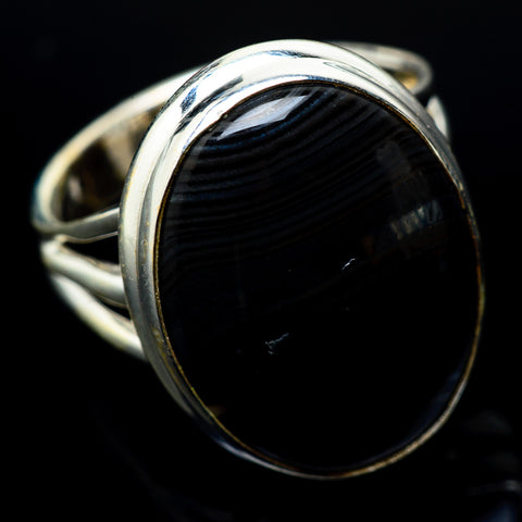 Psilomelane Rings handcrafted by Ana Silver Co - RING22520