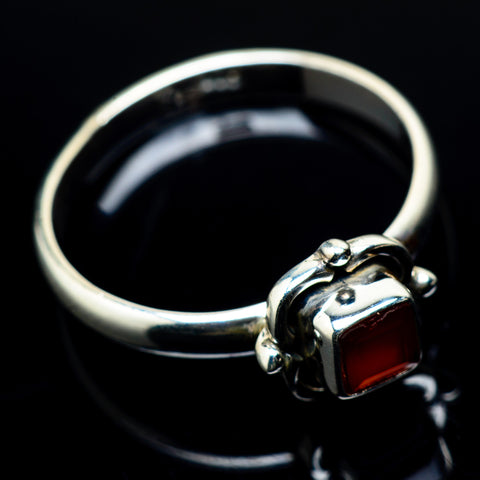 Red Onyx Rings handcrafted by Ana Silver Co - RING22584