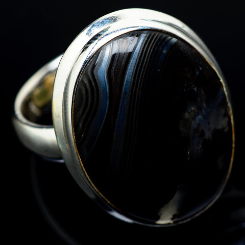 Psilomelane Rings handcrafted by Ana Silver Co - RING22621