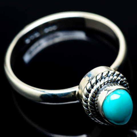 Arizona Turquoise Rings handcrafted by Ana Silver Co - RING22627