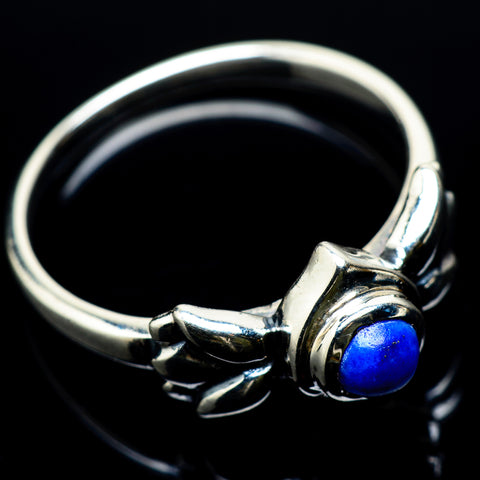 Lapis Lazuli Rings handcrafted by Ana Silver Co - RING22695