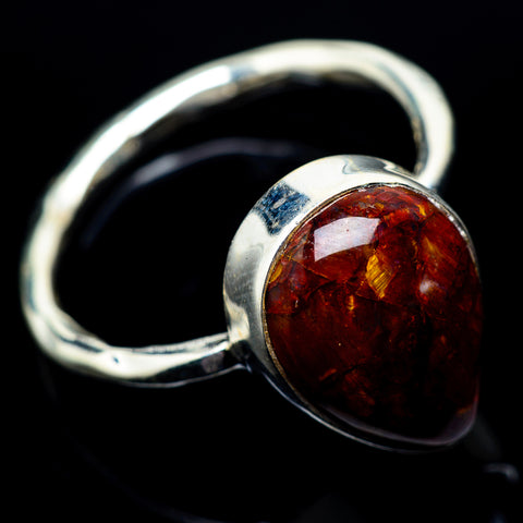 Golden Pietersite Rings handcrafted by Ana Silver Co - RING22849